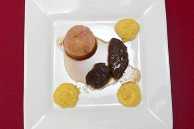 Geschmorte Ochsenwade an Apfel-Chutney mit Herzoginkartoffeln - Rezept