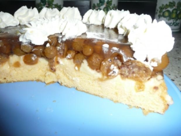 Stachelbeerkuchen mit Pudding - Rezept - Bild Nr. 2