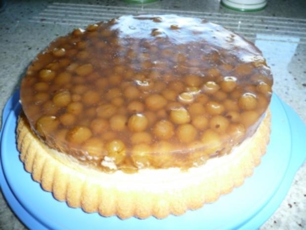 Stachelbeerkuchen mit Pudding - Rezept - Bild Nr. 4