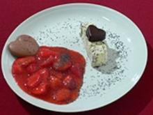 Mohnparfait mit beschwipsten Erdbeeren - Rezept - Bild Nr. 9