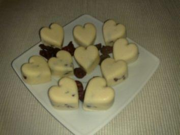 Flammende Schoko-Herzen - Rezept