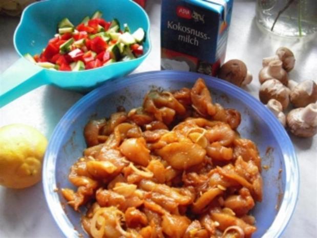 greeneye´s fruchtiges Hähnchen-Curry - Rezept - Bild Nr. 2