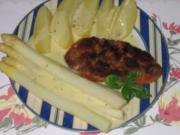 Hauptgericht: Panierte Schnitzel, mit Spargel und Salzkartoffel - Rezept - Bild Nr. 3