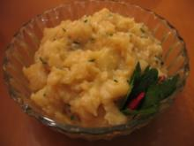 Original schwäbisch und zugleich  badischer Kartoffelsalat! :-) - Rezept