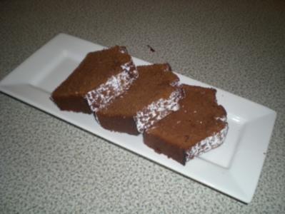 Schokolade - Schneekuchen - Rezept