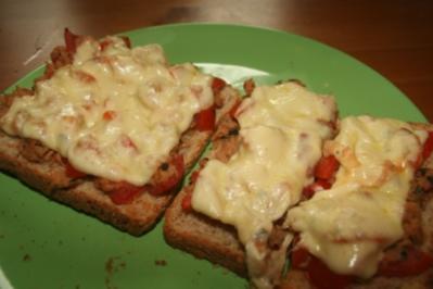 Überbackener Toast - Rezept