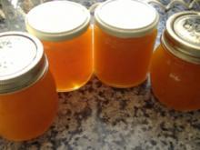 Aprikosenkonfitüre mit Mohn - Rezept