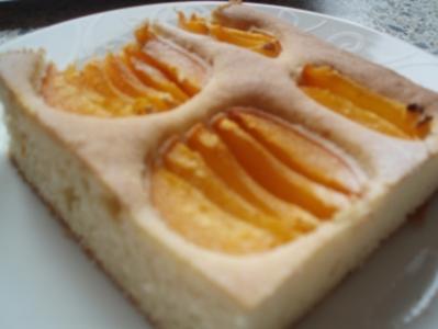 Marillenkuchen  ****  Obstkuchen - Rezept