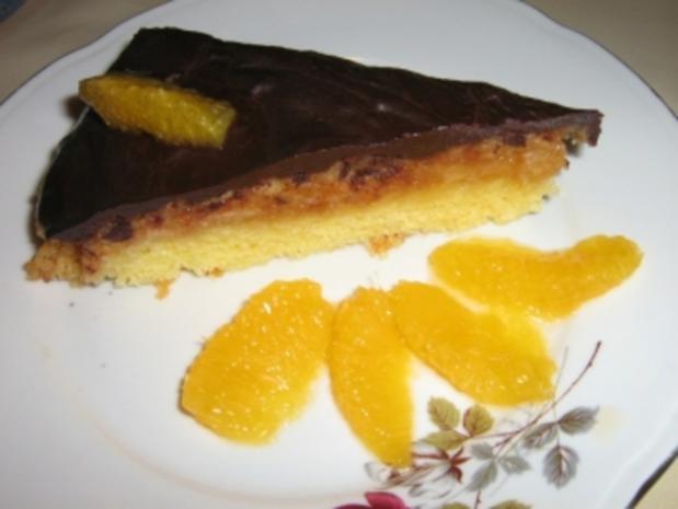 Orangenkuchen - Jafa kuchen - Rezept