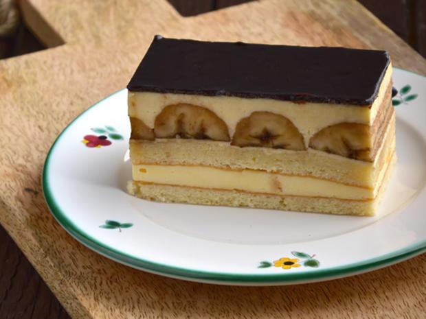 Bananen-Schokoladen-Blechkuchen - Rezept - Bild Nr. 2