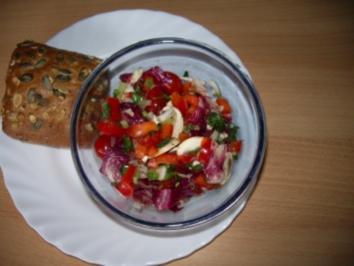 Salate: Radicchio-Salat - Rezept
