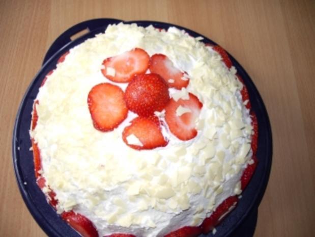 Torten: Erdbeerbombe - Rezept - Bild Nr. 2