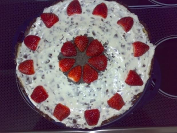 ** Kuchen & Co. ** Erdbeer - Mohrenkopf - Torte - Rezept
