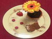 Aprikosen-Tiramisu an Früchten und Eisblume - Rezept