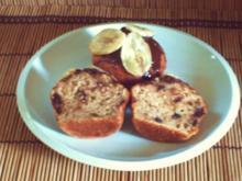 Banana-Choc-Walnut-Muffins – amerik. - Rezept