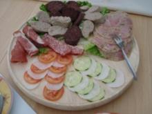 Deftige Hausmanns-Platte - Rezept