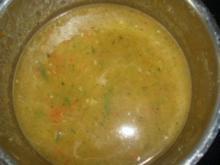 Scharfe Paprika-Zucchini-Cremesuppe - Rezept