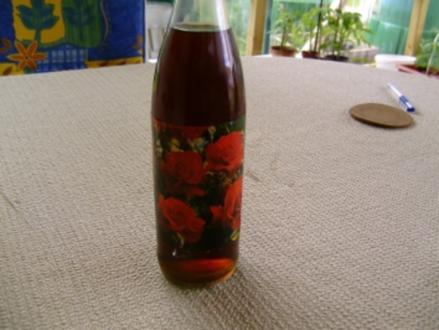 Rosenblütenlikör - Rezept