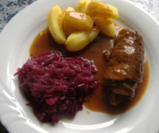 "Rinderroulade "" bürgerlich "" - Rezept"