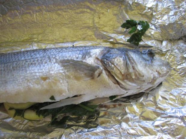 Gegrillter Fisch, da lässt man jedes Fleisch stehen... - Rezept - Bild Nr. 2