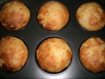 Rezept: Parmesan-Zwiebel Muffins