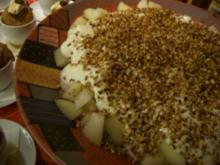 Melone mit Honigjoghurt - Rezept