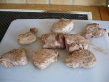 Schweinefilet zum Essen ... GRINS.. - Rezept