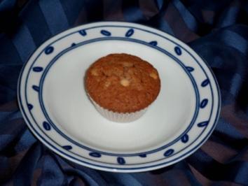 Milka-Muffins schwarz-weiß - Rezept