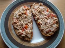 Thunfisch auf s Brot - Rezept