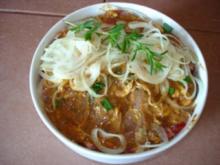 Schopfbraten ( Schweinekamm)  vom Grill - Rezept