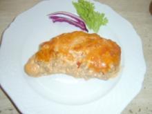 Schnitzel Leckerchen Überbacken - Rezept