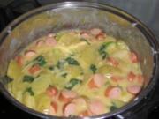 Basilikum-Bechamel-Kartoffeln - Rezept