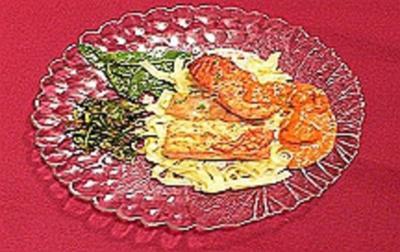 """Fischplatte """"Denia"""" mit gebratenem Gemüse - Rezept"""