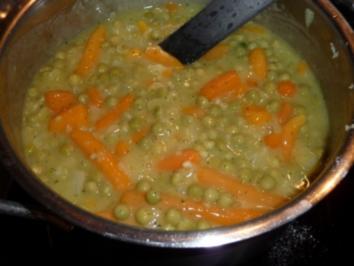 Gemischtes Gemüse in Knoblauch-Zwiebel-Soße - Rezept