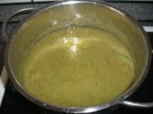 Würzige Bohnen-Zuchhini-Suppe - Rezept
