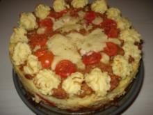 Hackfleisch – Tomaten – Paprika – Mozzarella - Torte - Rezept
