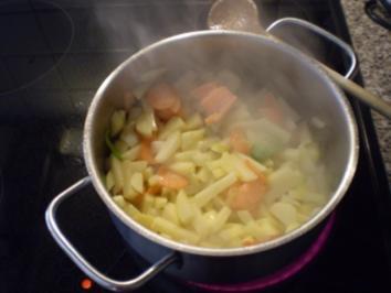 Kartoffelsuppe hausgemacht - Rezept