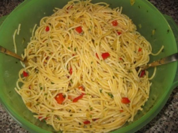 Gabi's Spaghettisalat - Rezept
