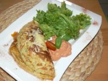 Gemüsepfannkuchen - Rezept