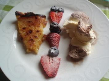 Sonnen-Torte mit Schokoladeeis - Rezept