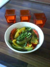 Paprika vom Grill - Rezept