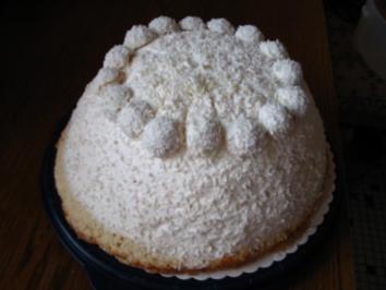 Schneeball - Torte - Rezept