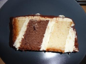 Rezept: Black'n'White - Kuchen