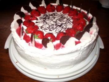 Erdbeer-Mascarpone Torte - Rezept