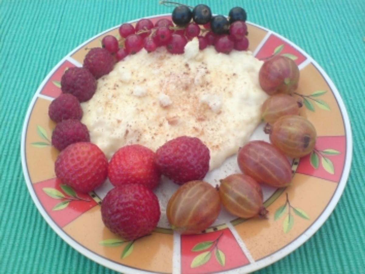 Bilder für Vanille-Milchreis - Rezept