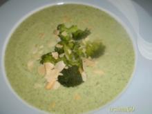 Broccoli - Cremesuppe - Rezept