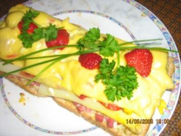 Spargel-Toast mit Erdbeeren und Chili - Rezept