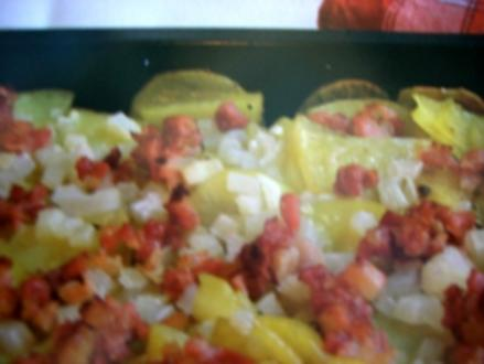 Schmuttkartoffeln im Backofen - Rezept