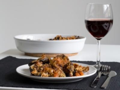 Aubergine parmigiana - Rezept