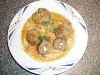 Indische Fleischbällchen - Rezept